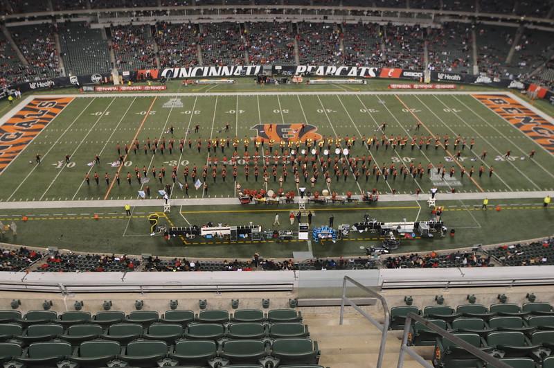 UC Band_UC vs USF_Paul Brown Stadium_Cincinnati, OH