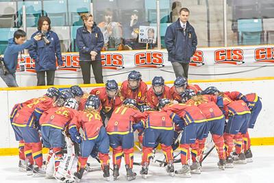 Women's Hockey - Queen's vs. Laurier 20110313