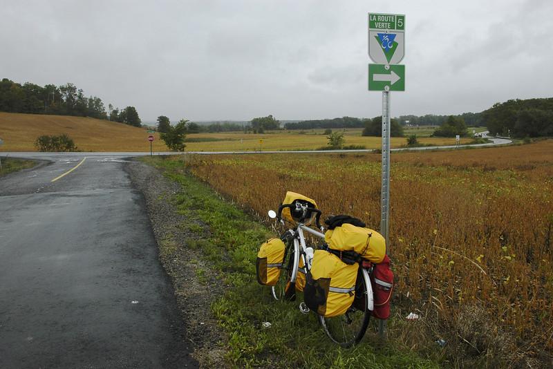 Route verte #5 - St-Augustin