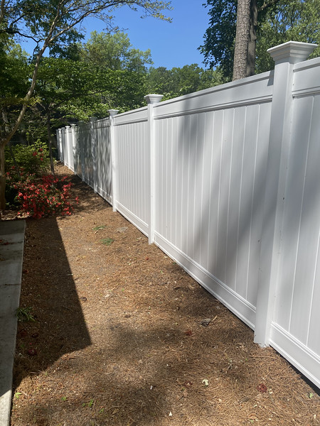 6 foot vinyl privacy