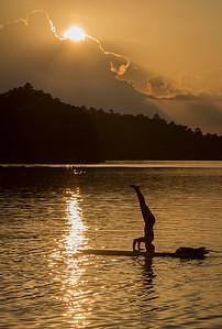 SUP Sunset