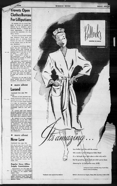 Summer News, Vol. 1, No. 25, August 30, 1946