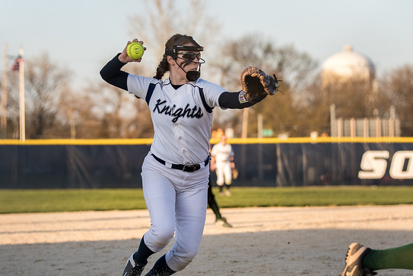CC Softball vs Benton Central 2016-4-14