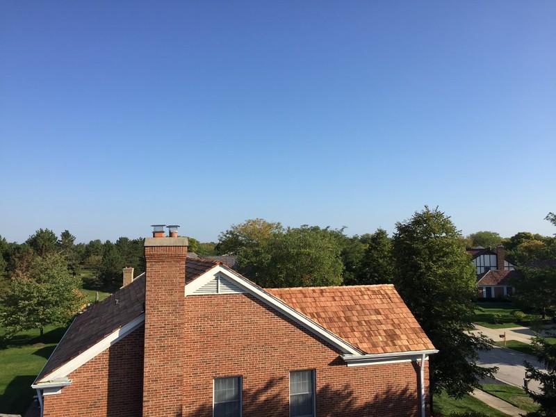 Cedar Roofing K-Style Gutters Deerfield IL