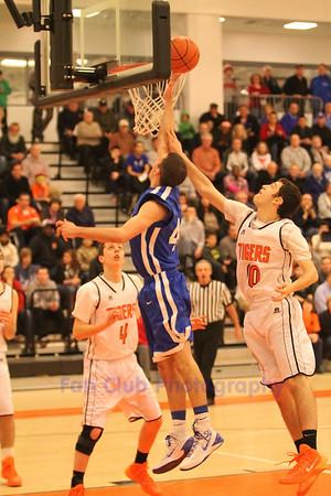 BHS Varsity Basketball Tournament 2014 vs Newton North