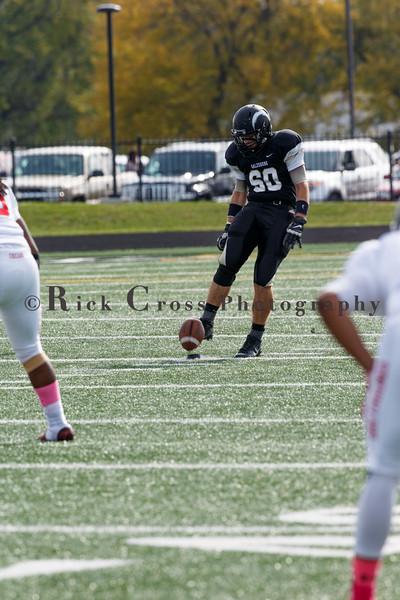 Galesburg Varsity Football vs Hubbard 1st Round