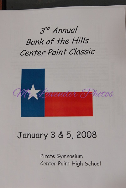 3rd Annual Center Point Pirate Basketball Classic