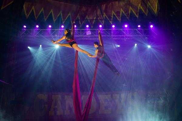 Gandeys Circus, Woodthorpe Grange Park, Sherwood, Nottingham - 21-09-19