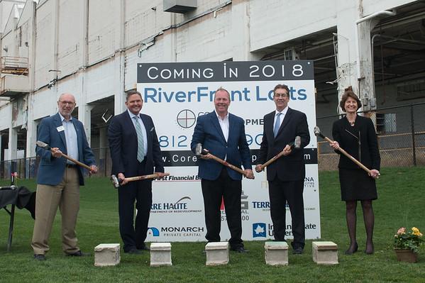 Riverfront Lofts Ground Breaking, 2017