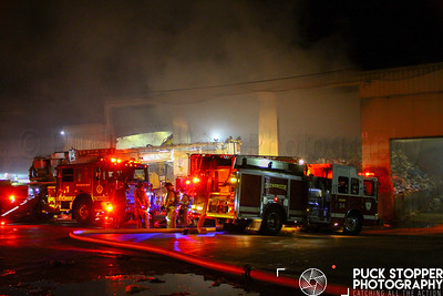 Refuse Center Fire - 61 Taylor Reed Place, Stamford, CT - 10/4/18