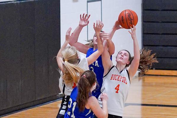 North Rockford Girls 8th Grade Girls Basketball vs Sparta