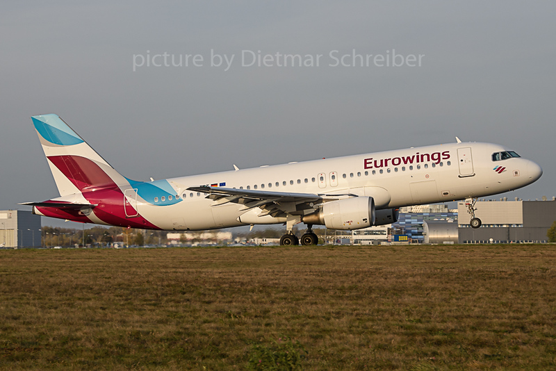 2019-11-01 D-ABDT Airbus A320 Eurowings