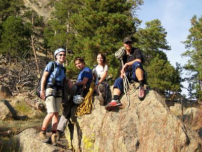 Rock Climbing Devils Tower
