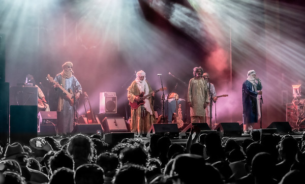 Tinariwen October 11,2019 with Lonnie Holley