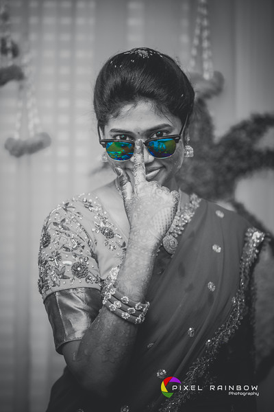 Bernad+Madhuri Bride