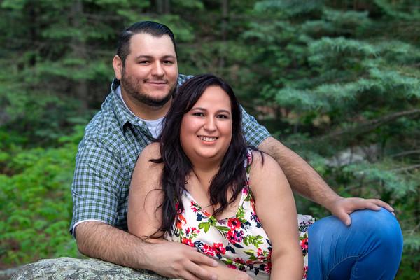 Aaron and Cassandra's Engagment Shoot June 2021