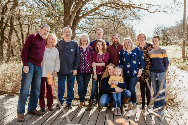 Campbell Extended Family