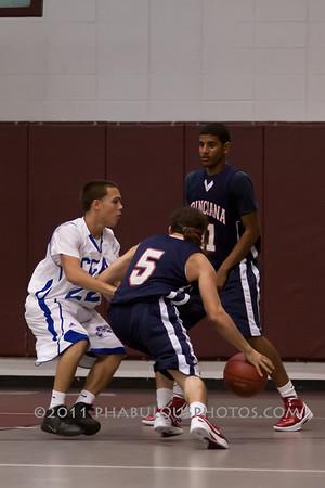 Poincianna @ Cornerstone Charter Boys Varsity Basketball - 2011