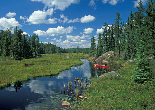 Canoeing The BWCAW