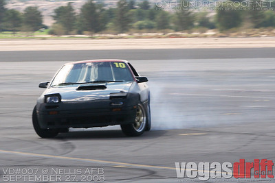 VegasDrift Event @ Nellis AFB - VD007 - September 27, 2008