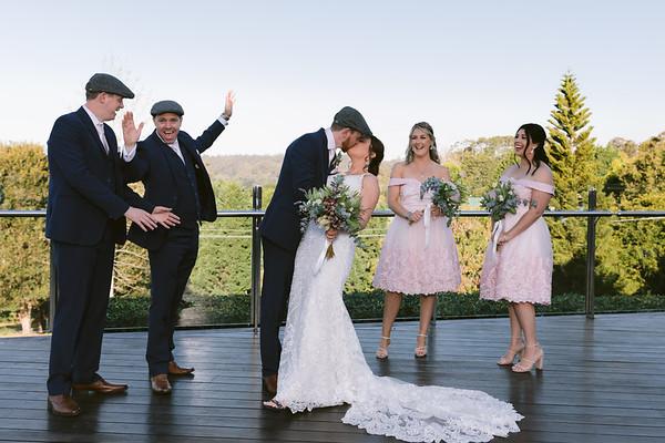 Leanne&David: Group photos