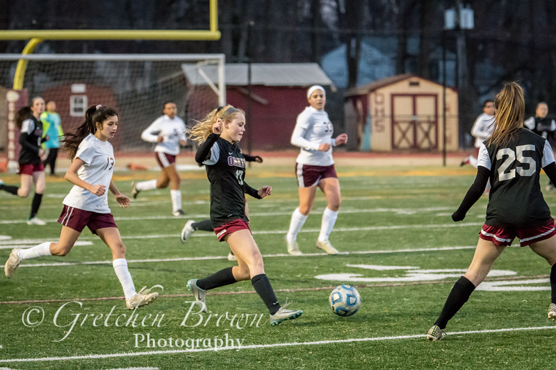 Girls JV Soccer 2019