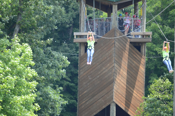 2014 Quilt Camp Zip-Line
