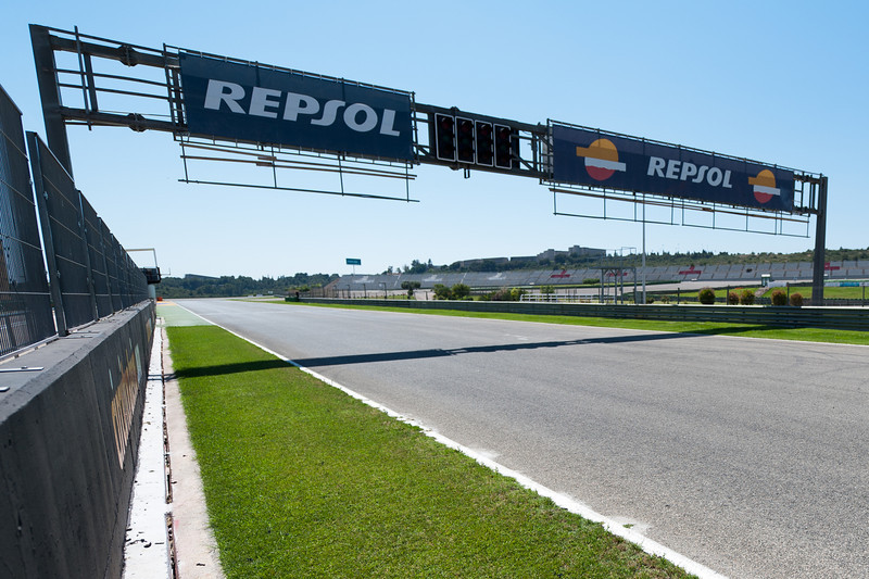 View of the race track at the 2011 European Grand Prix - Valencia, Spain