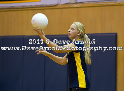 9/19/2011 - Girls Varsity Volleyball - Framingham vs Needham