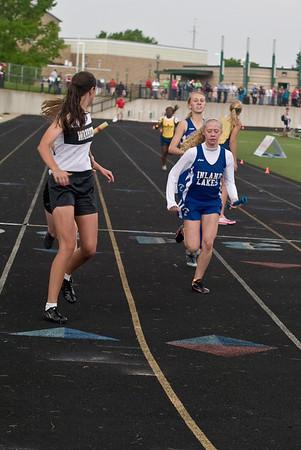 Girls 4x400m - 2012 MHSAA LP D4 T&F Finals
