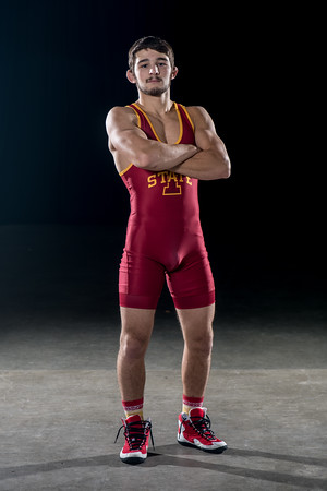 ISU Wrestling photoshoot 10/17/18