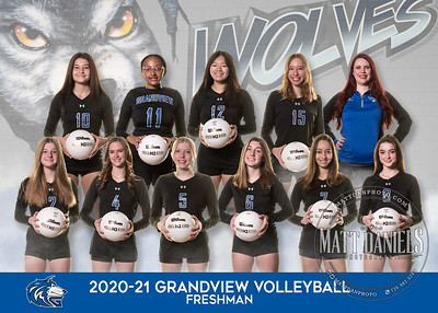 2020-21 Grandview Volleyball