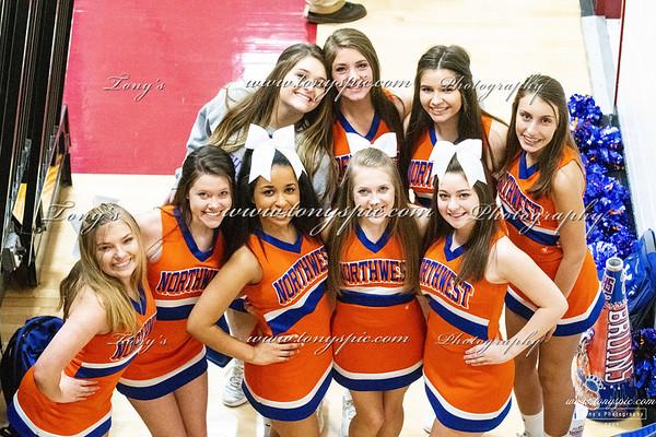 Cheerleaders @ Region SE 7&8 Feb 2019