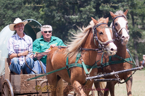 Sunday Land Rush National Championship Chuckwagon Races