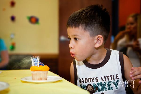 aiden's 5th birthday