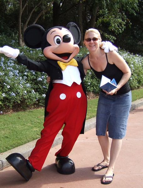 Never too old to love Mickey