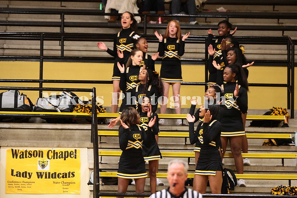 Chapel JR High Cheering Basketball 11-13-2014