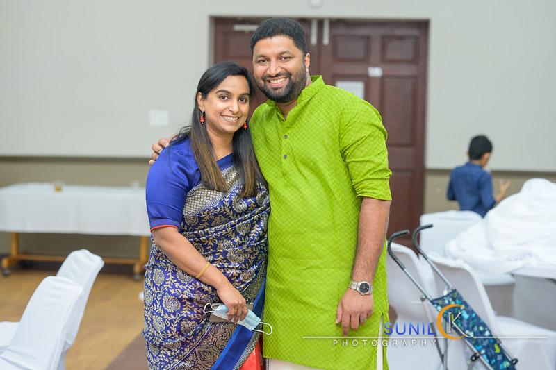 Binson Surabhy Family Photos