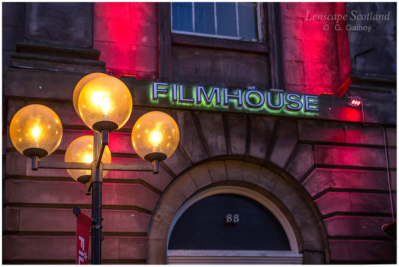 Filmhouse lamp, Lothian Road