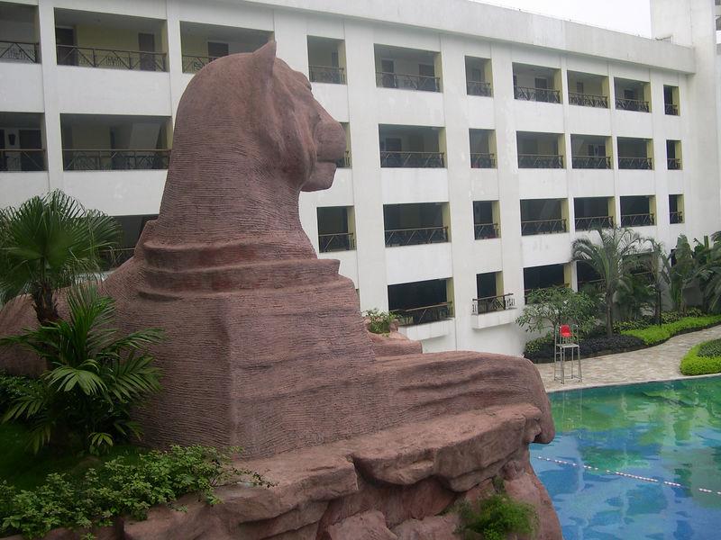 A tiger sphinx