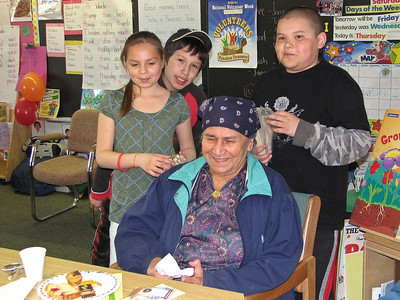 Bishop Belleau School Elder/Volunteer Tea 2008