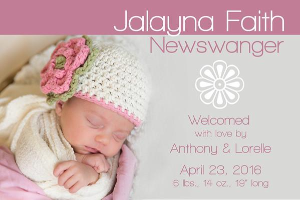 Baby Girl Newswanger