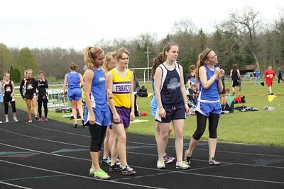 Girls 1600 Meter - Brethren Invite