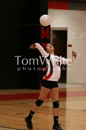 Mena vs Ashdown - LadyCat JV Volleyball 2012