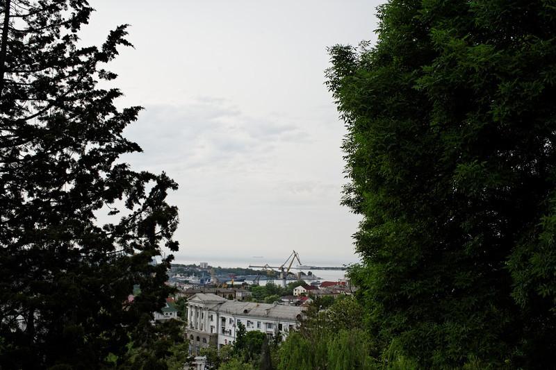 Sevastopol - View from Malakoff Hill towards Harbor