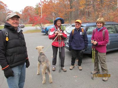 November 9 Wednesday Hike
