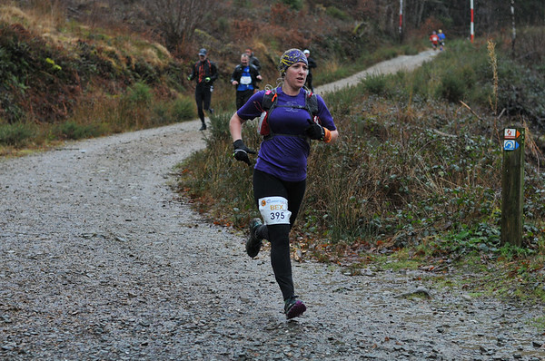 Buff Winter Trail Wales at 4 Miles
