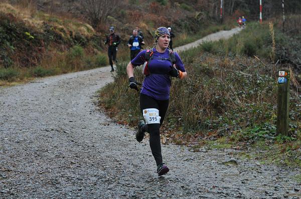 Buff Winter Trail Wales at 4 Miles