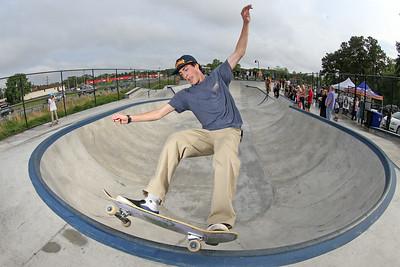 Brick Skateboard Park grand opening
