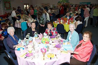 Women's Tea's 2011